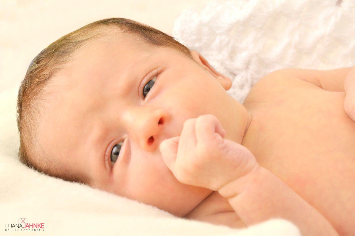Fotos de Newborn - Primeiros dias